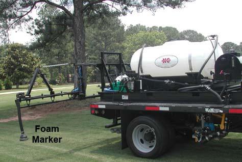 Golf Course Sprayer Newton Crouch Inc