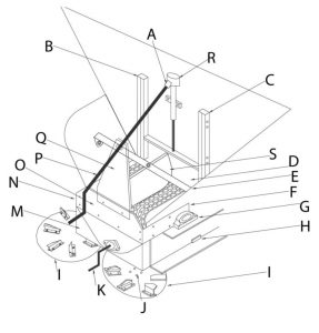 SCHEMATIC FOR SPREADER PARTS